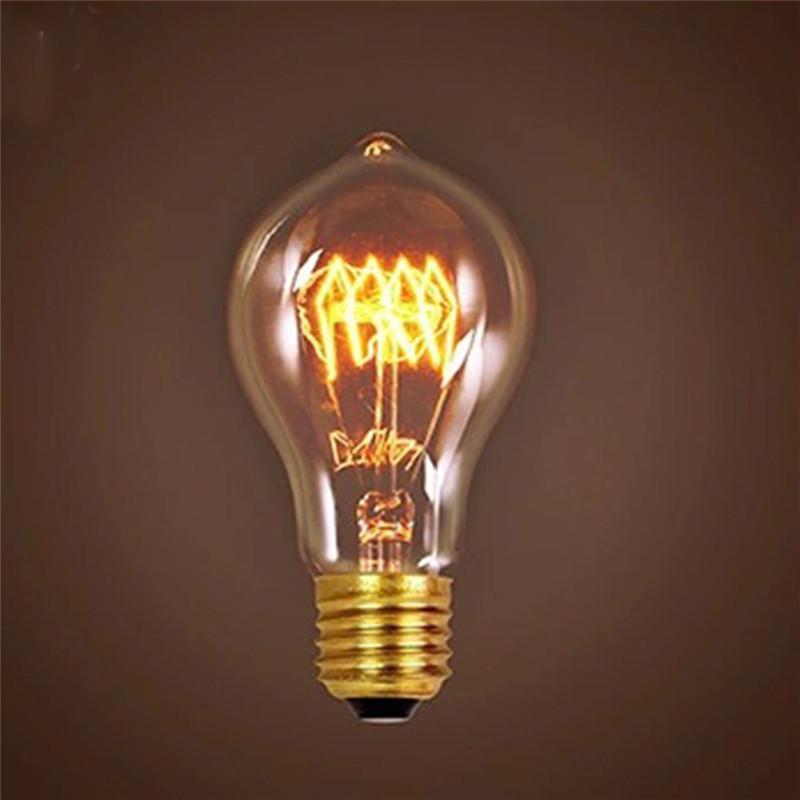 e27 antique edison bulb incandescent light vintage retro industrial style lamp ebay. Black Bedroom Furniture Sets. Home Design Ideas