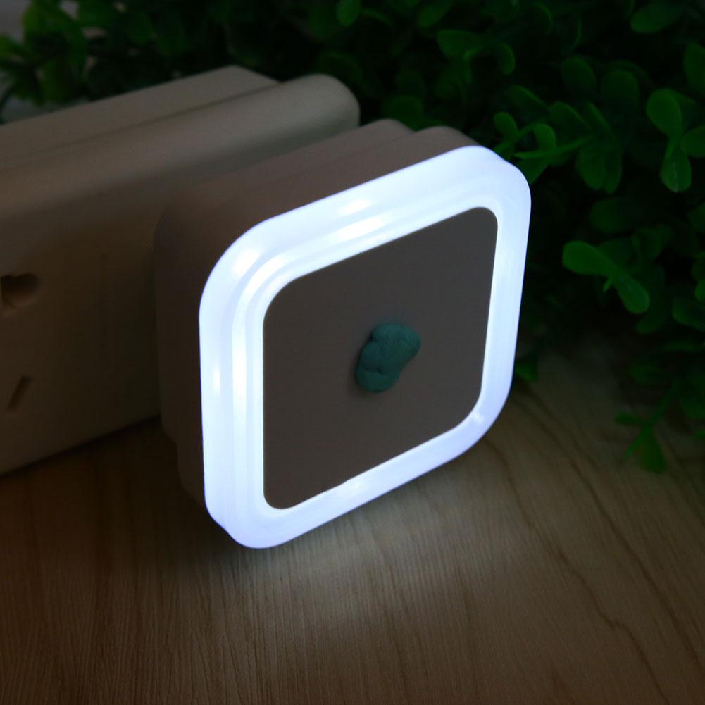 auto led body motion sensor control night light bedroom