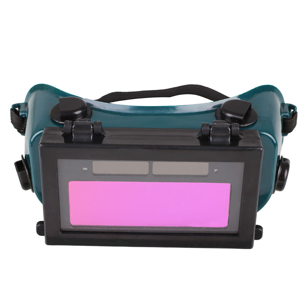 powered goggles  Solar Powered Auto Darkening LCD Welding Helmet Grinding Goggles ...