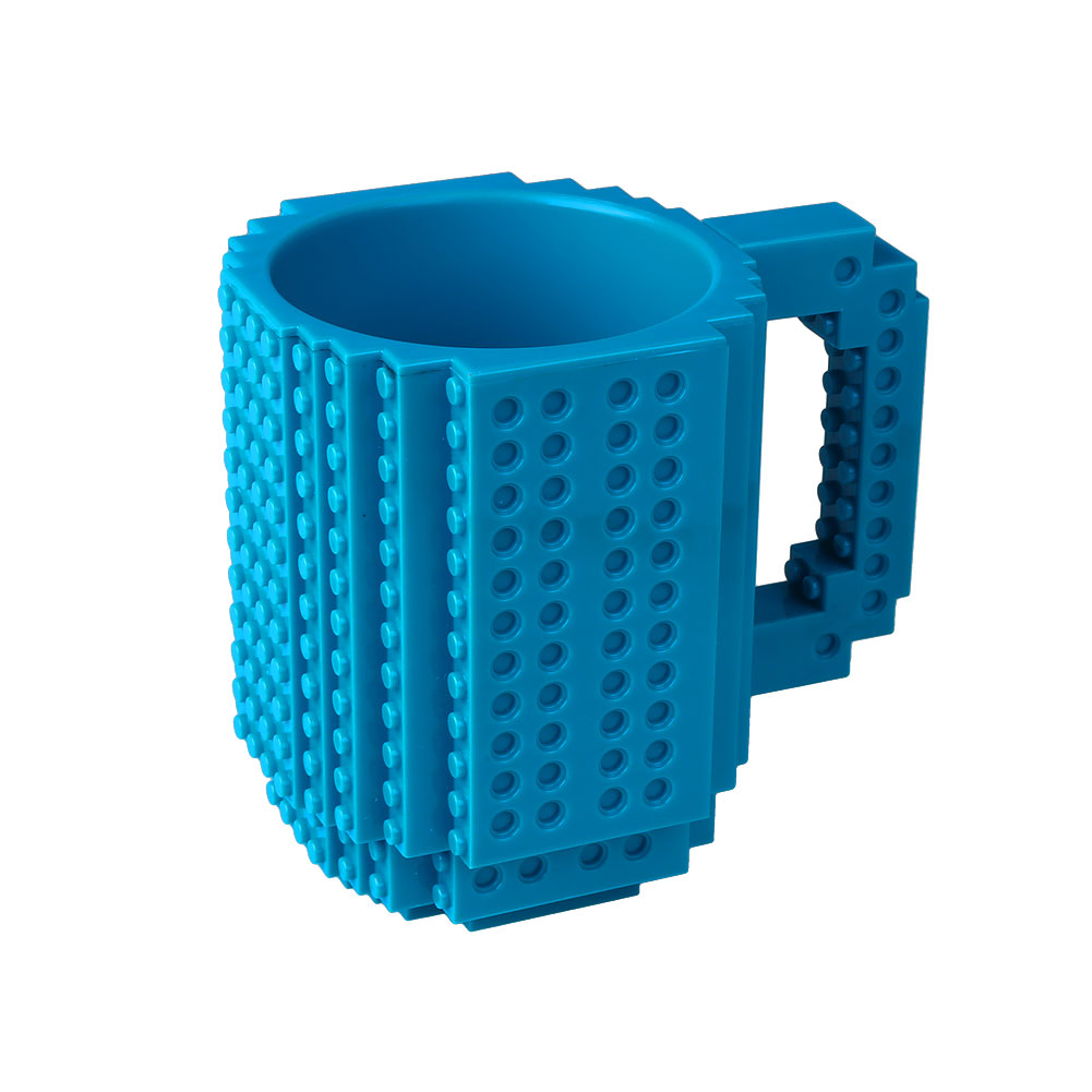 DIY Portable Lego Coffee Milk Juice Home Kitchen Bar Tableware Cup Mug Gift
