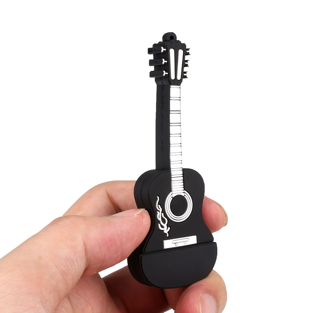 guitar 16gb usb 2 0 flash drive external memory stick. Black Bedroom Furniture Sets. Home Design Ideas