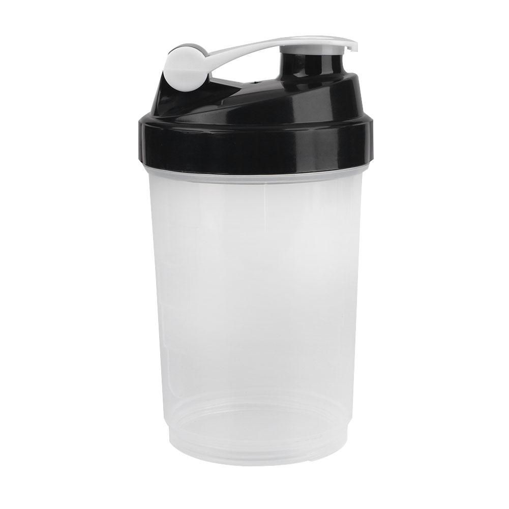 Water Bottle Blender: 500ml Protein Mixer Blender Shaker Bottle Water Drinkware