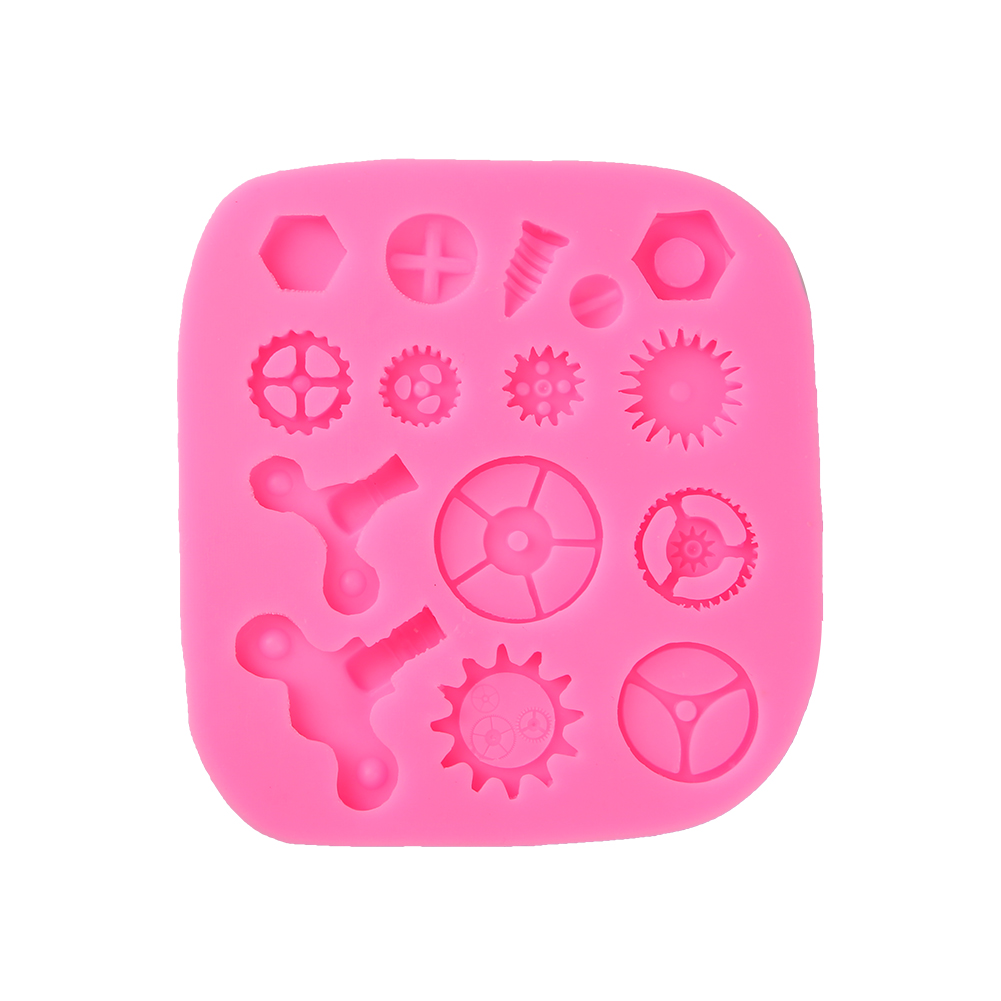 Silicone Steam Punk Designed Cupcake Fondant Cake Mould ...
