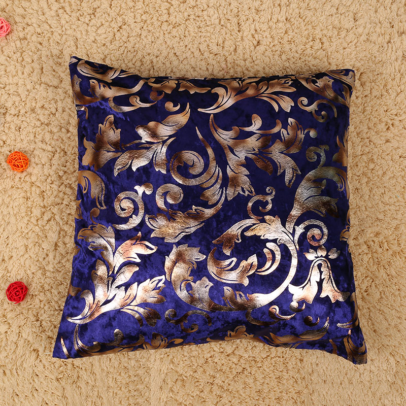 Fashion Silver Floral Sofa Bed Pillow Case Decorative Cushion Cover Gift eBay