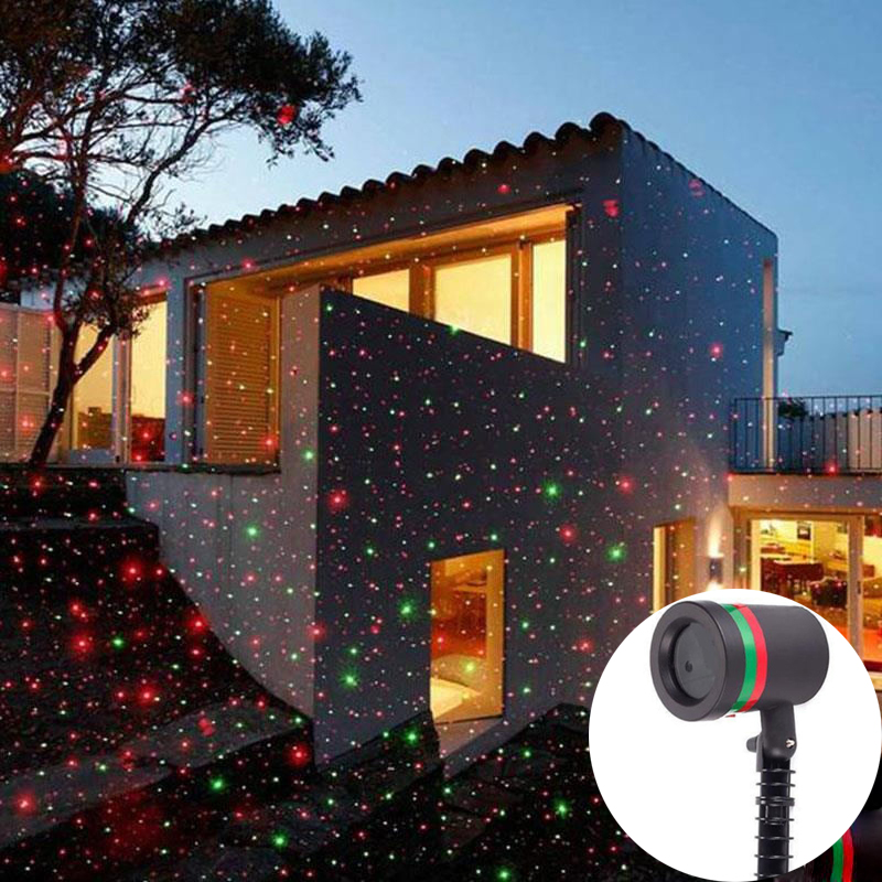 Outdoor Waterproof Stars Projector Laser Light Show Home