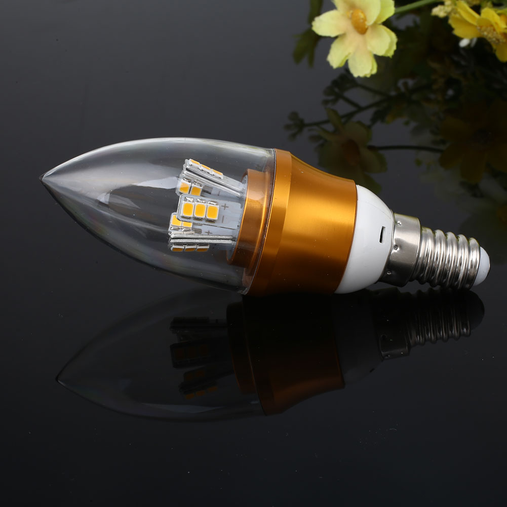 e14 led 10w candle light bulb dimmable lamp ac 220v home. Black Bedroom Furniture Sets. Home Design Ideas