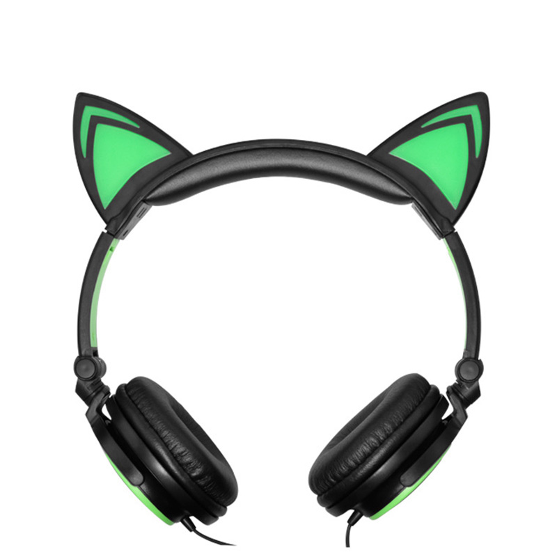 Led Cat Ear Headphones