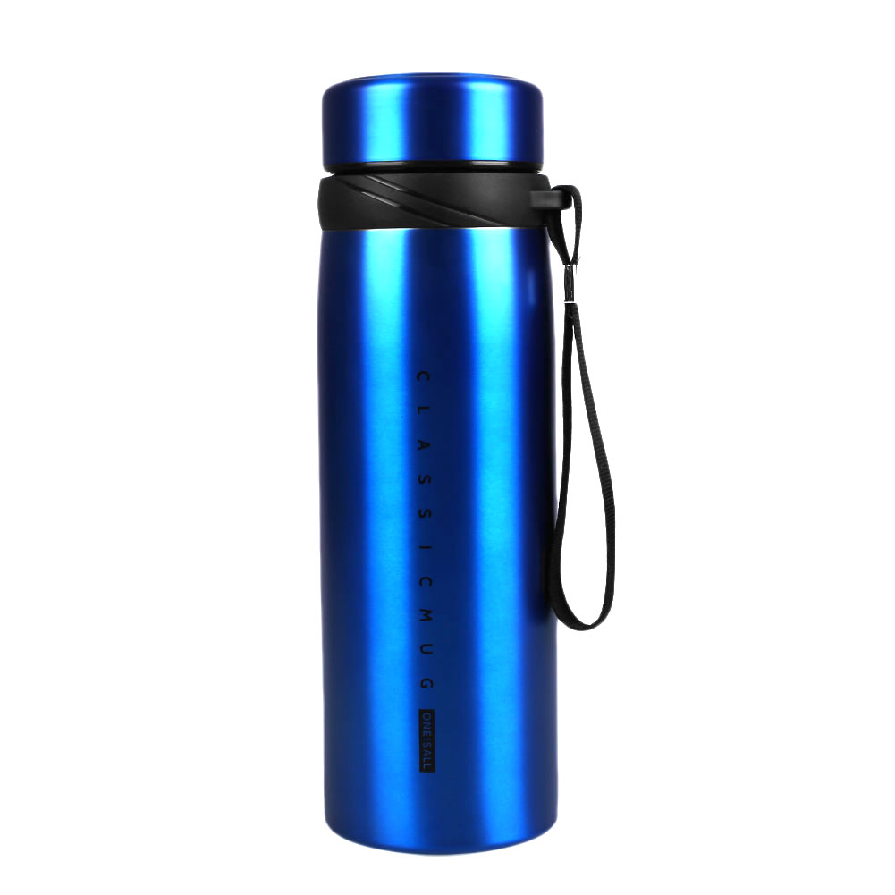 650ml stainless steel vacuum flask travel water bottle thermos coffee cup ebay. Black Bedroom Furniture Sets. Home Design Ideas
