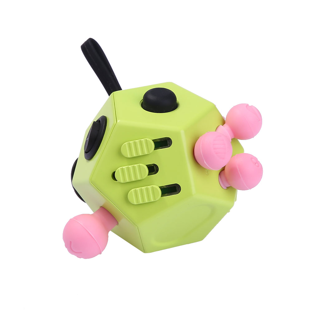 Toys For Adults For Stress : Fidget cube ii anxiety stress relief focus side dice