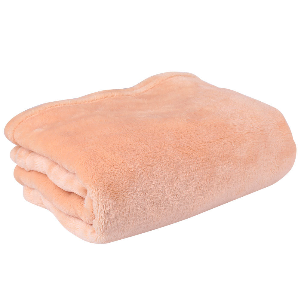 Super Soft Coral Fleece Throw Luxury Warm Home Sofa Baby ...
