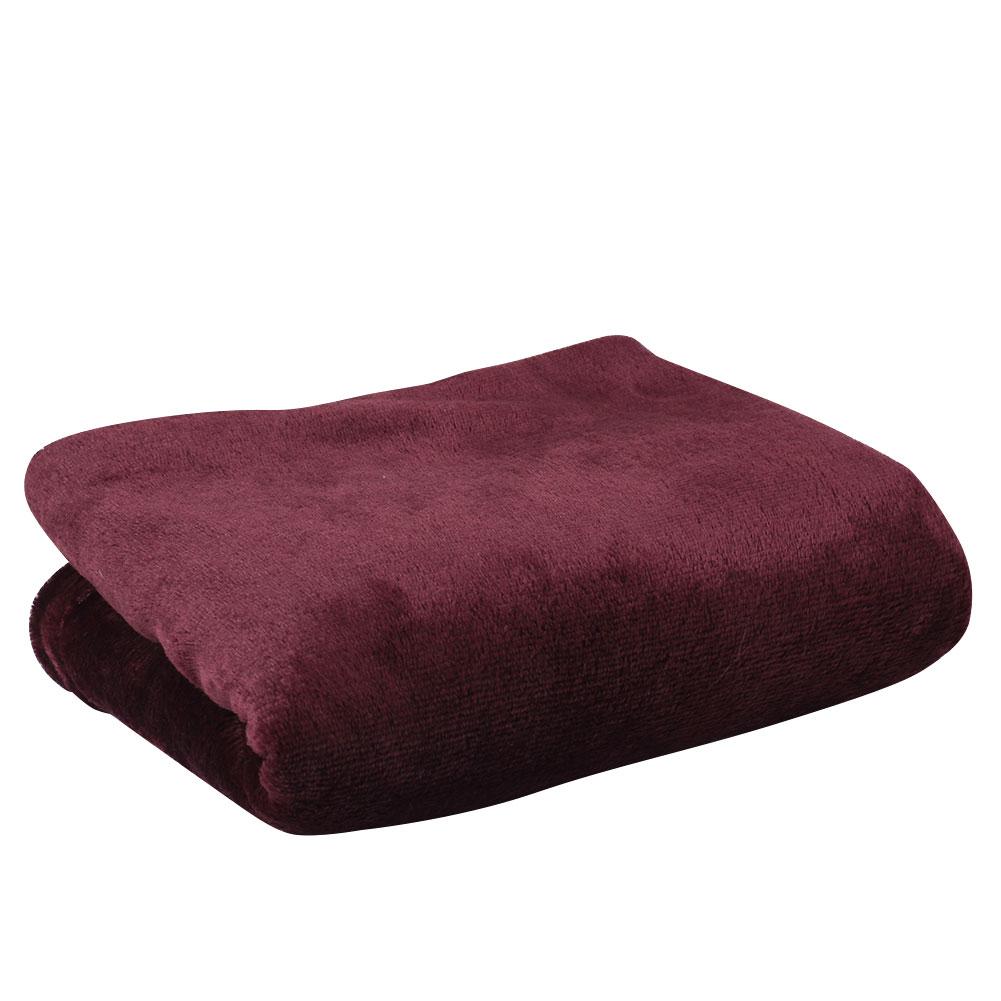 Super Soft Coral Fleece Throw Luxury Warm Home Sofa Baby Solid Blanket Ebay