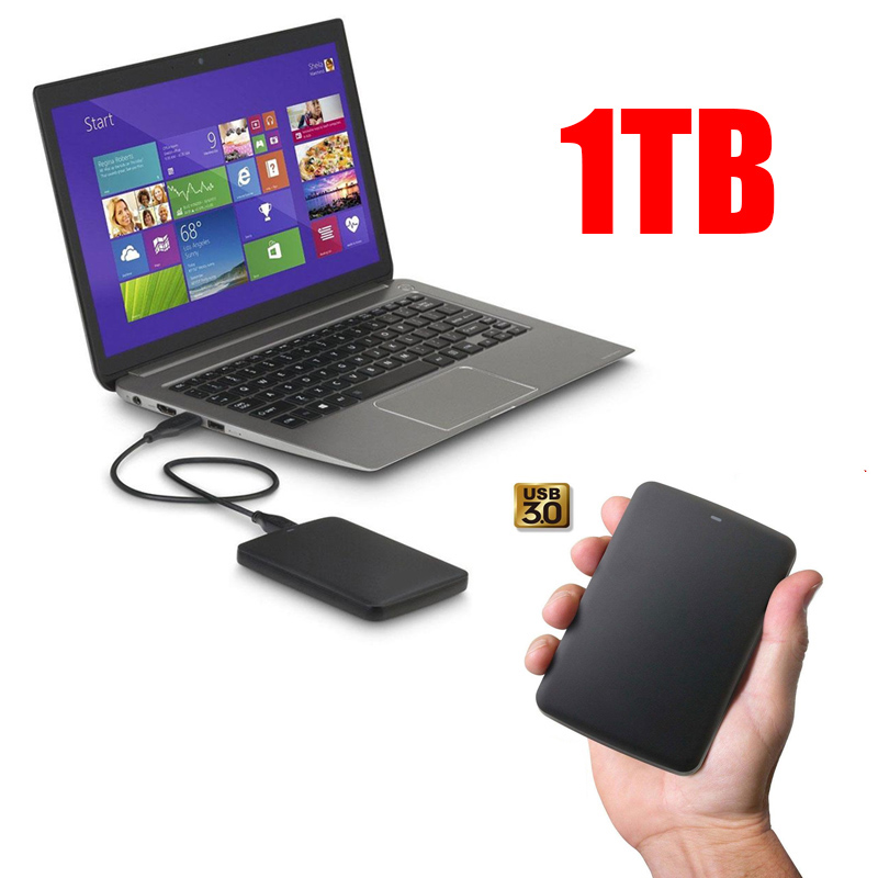 Cheap! USB3.0 1TB External Hard Drives Storage Portable