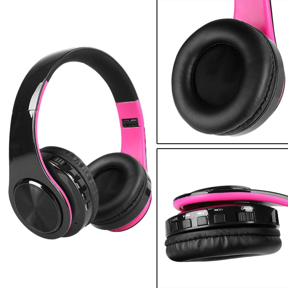 Stereo Mp3 Bluetooth Headset Wireless Foldable Over-Ear Headphones Earphone TF | eBay