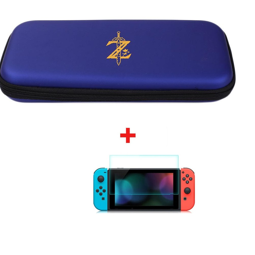 Nintendo switch hard shell zelda carrying eva protective for Housse zelda nintendo switch
