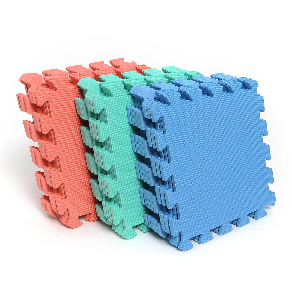 Rubber mats gym interlocking - Unbranded