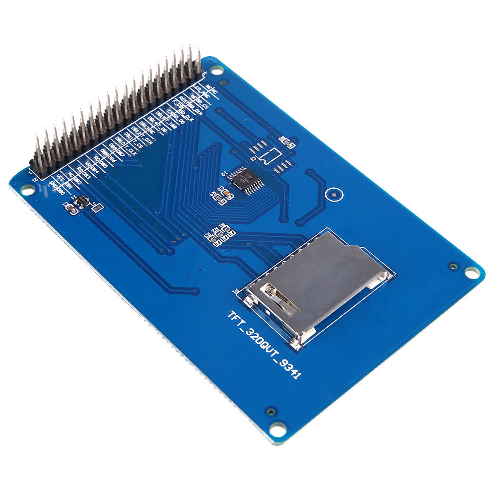 Connect 32 TFT LCD with SSD1289 directly to Arduino mega