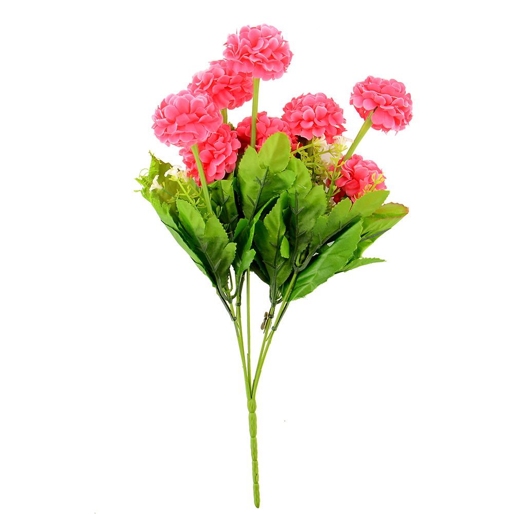 Artificial faux small chrysanthemum silk flower home for Small garden arrangement