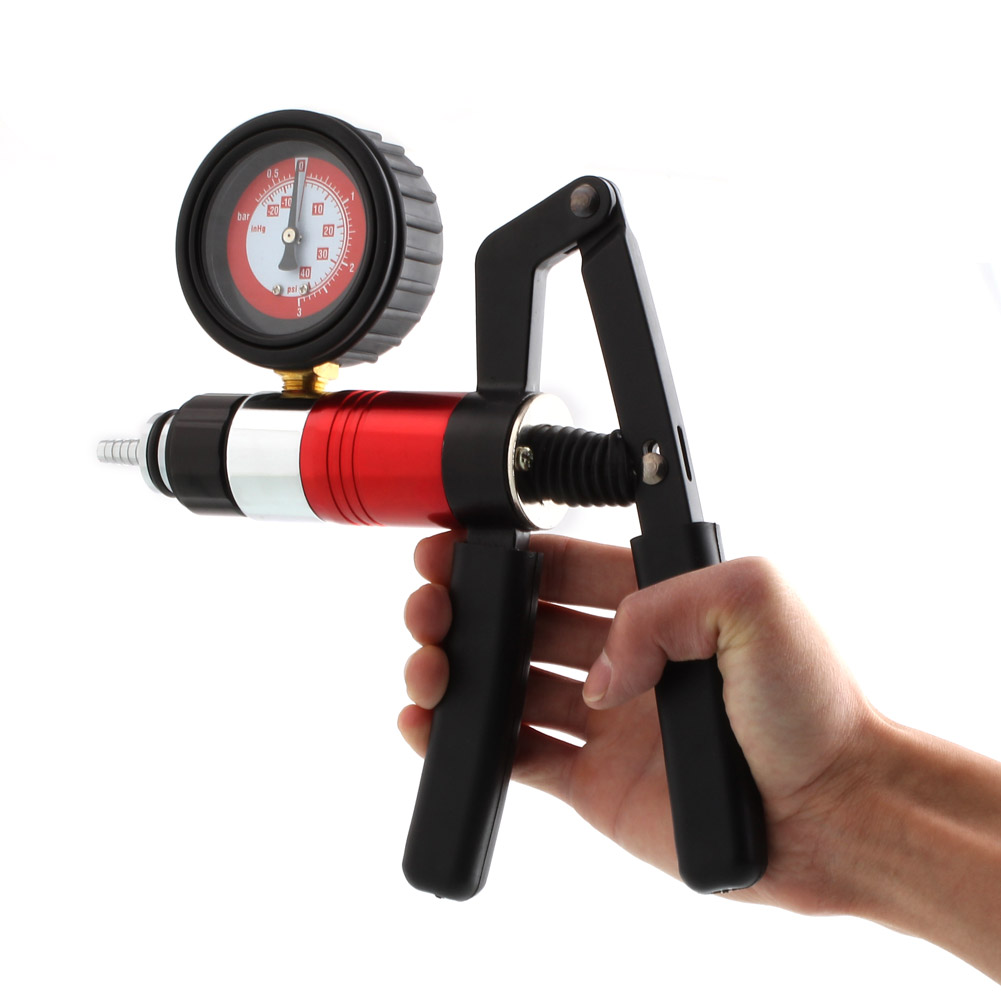 pistolet vacuum d 39 aspiration pompe vide testeur de circuits d pression ebay. Black Bedroom Furniture Sets. Home Design Ideas