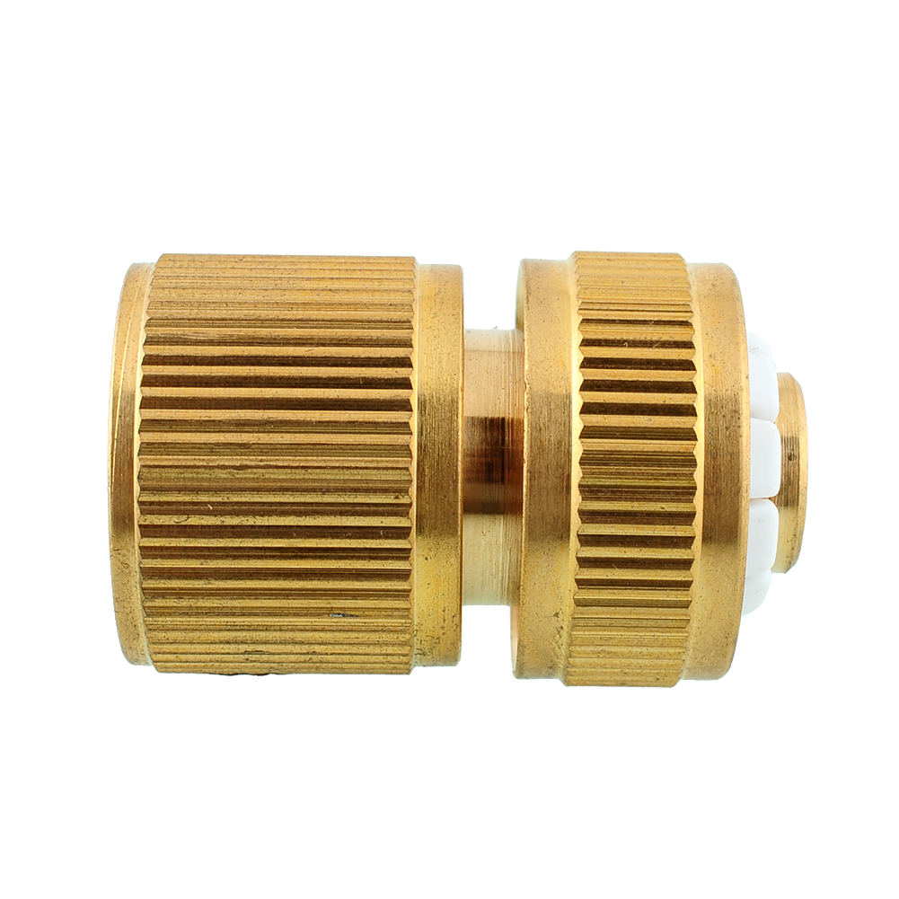 Durable brass metal threaded hose water pipe connector