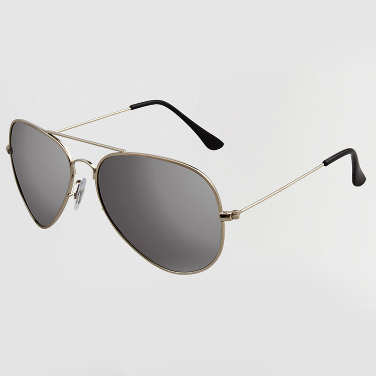 polarized mirrored aviator sunglasses  New Mens Aviator Sunglasses HD Polarized Mirror Outdoor Eyewear ...