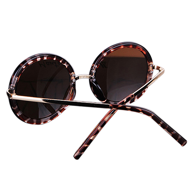 Women Eyewear Round Vintage Retro Lens Aviator Glasses ...