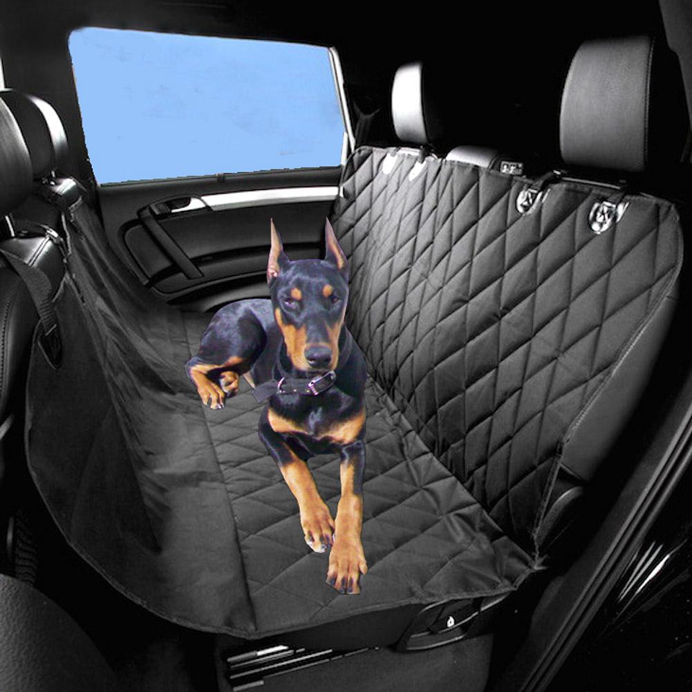 schwarz r cksitzdecke haustier autoschondecke schutzdecke hund pkw schondecke ebay. Black Bedroom Furniture Sets. Home Design Ideas