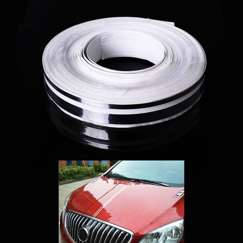Car 12mm Pinstripe Pinstriping Tape Vinyl Sticker White