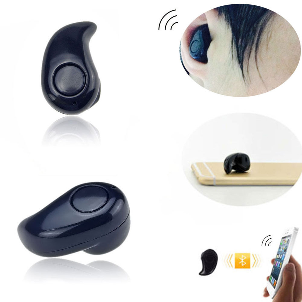 mini bluetooth wireless in ear headphones headset stereo smallest earphone small. Black Bedroom Furniture Sets. Home Design Ideas