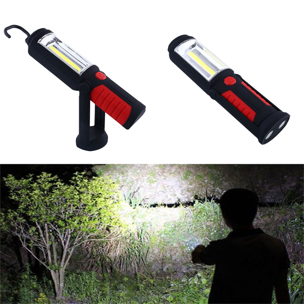 Light Stand Hook: COB LED Magnetic Working Stand Hanging Hook Light