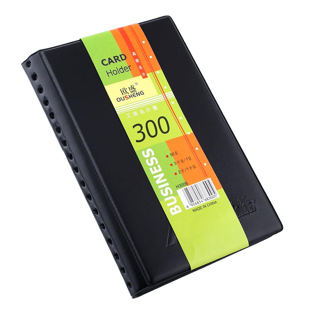 Book Cover Business Cards : Business name id credit card holder book booklet wallet