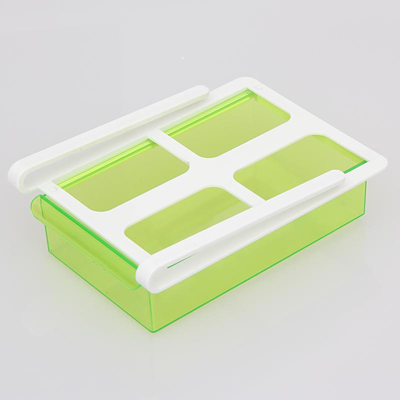 Slide Kitchen Fridge Freezer Space Saver Storage Rack Shelf Holder 4Color