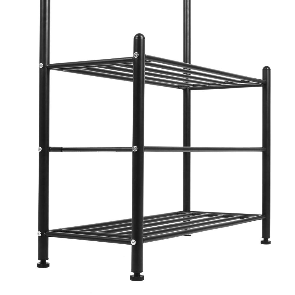 regal eisenregal wandregal schuhregal kleiderst nder. Black Bedroom Furniture Sets. Home Design Ideas