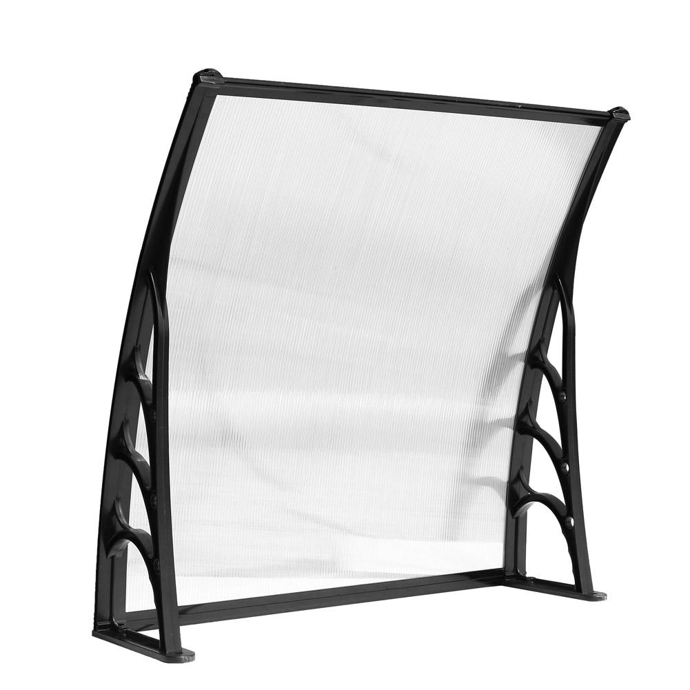 auvent de porte store marquise solaire abri banne entr e ombre protection 1 2m ebay. Black Bedroom Furniture Sets. Home Design Ideas