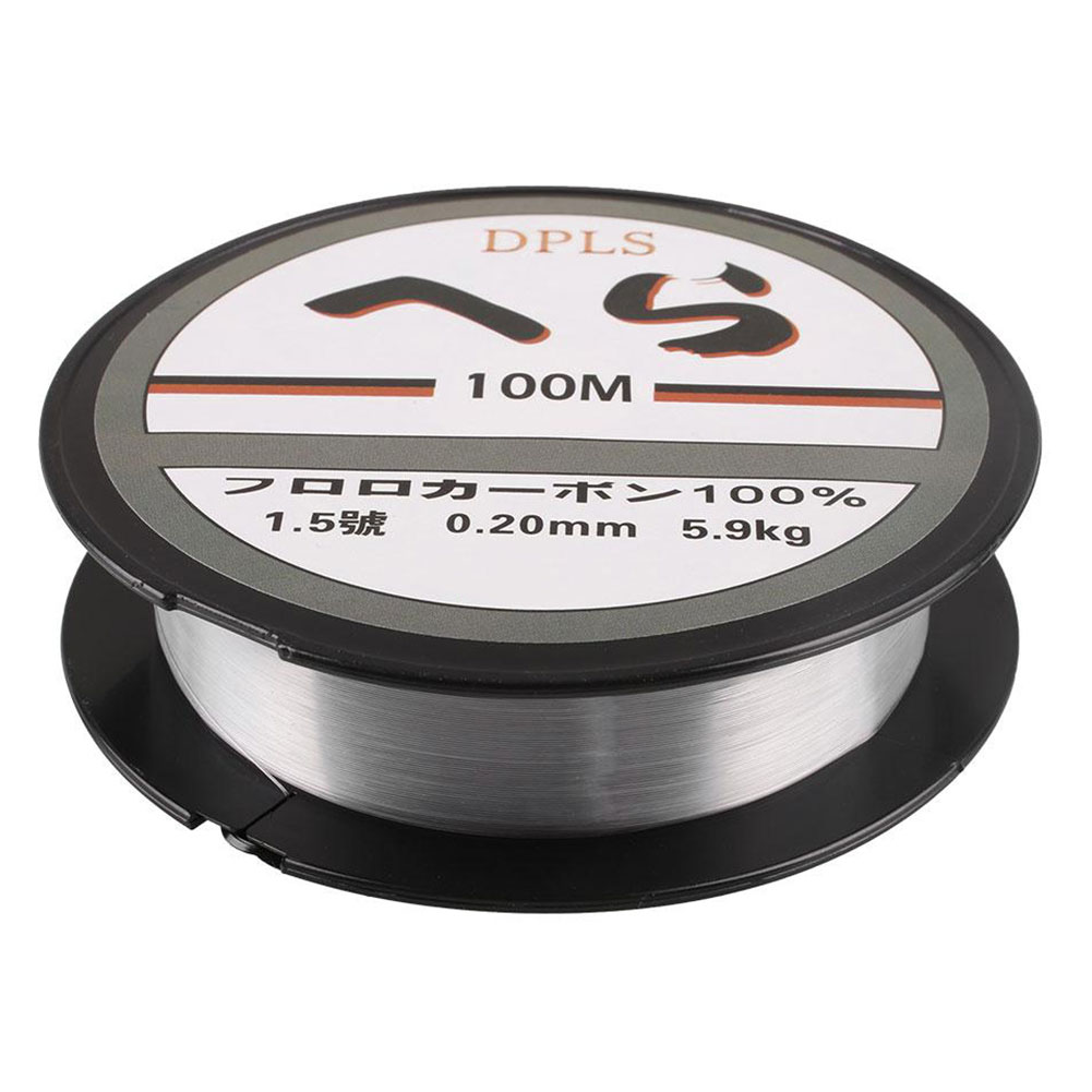 100m strong fishing line string nylon transparent fish for Strong fishing line