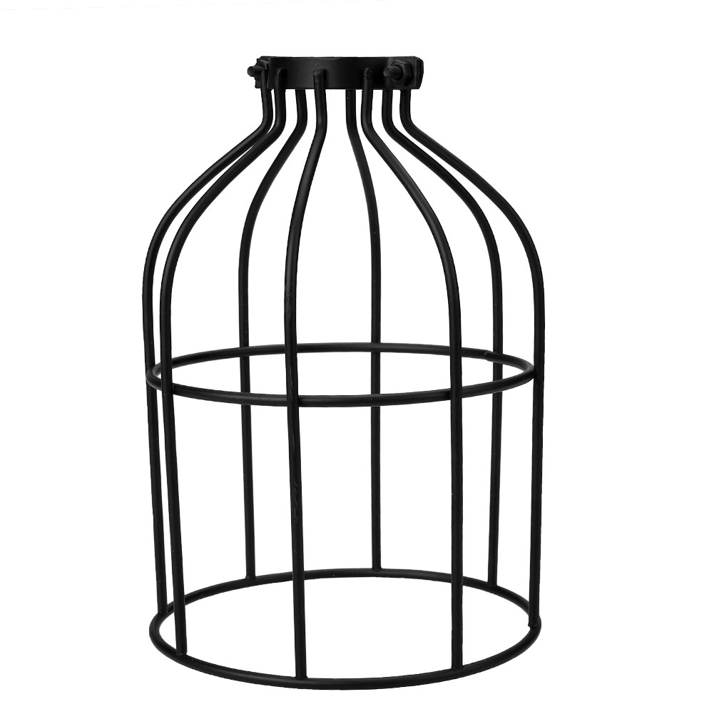 Lighting Metal Hanging Guard for String Light Lamp Holder Wire Iron Cage eBay