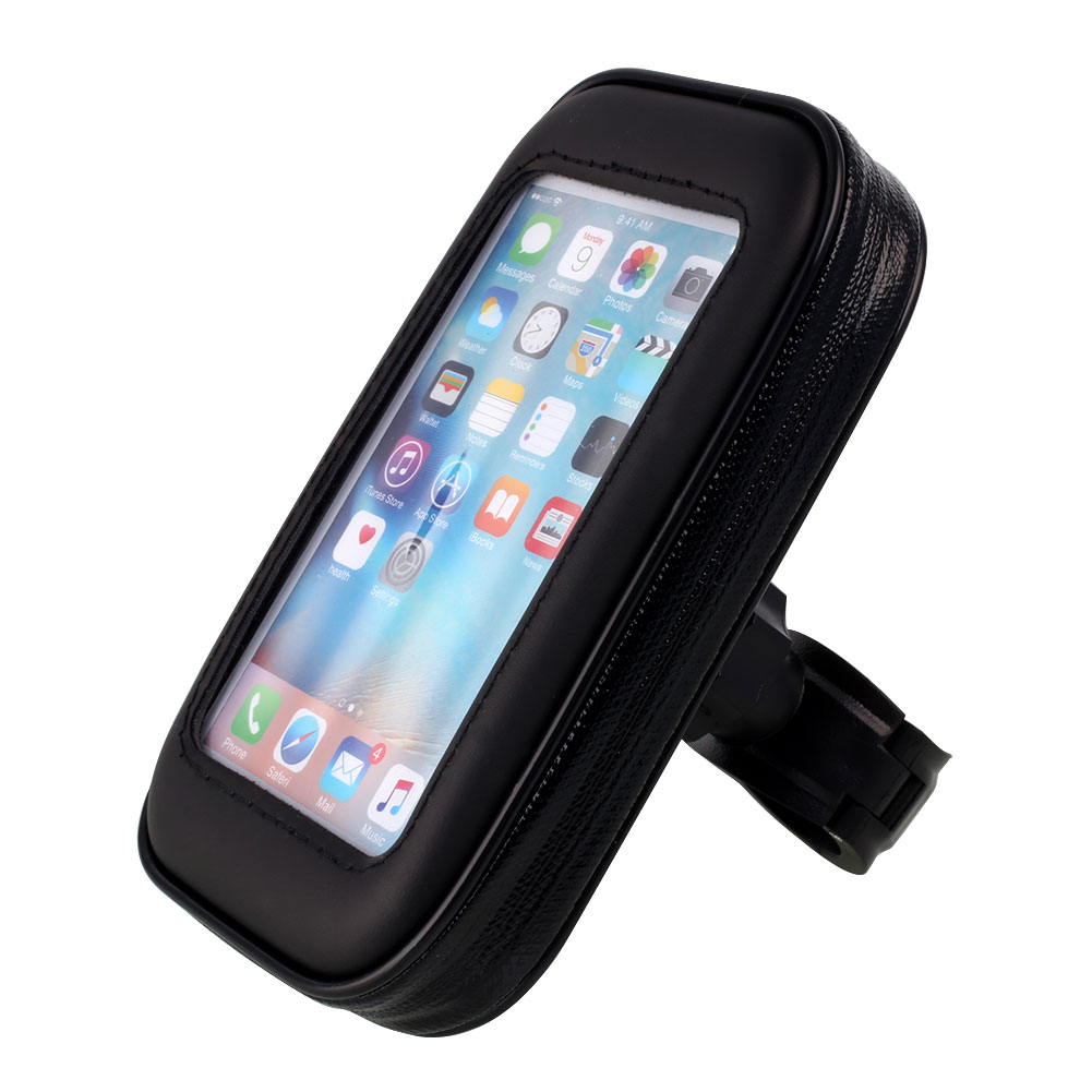 Universal Waterproof Motorcycle Bicycle Handlebar Mount Holder For Smartphone