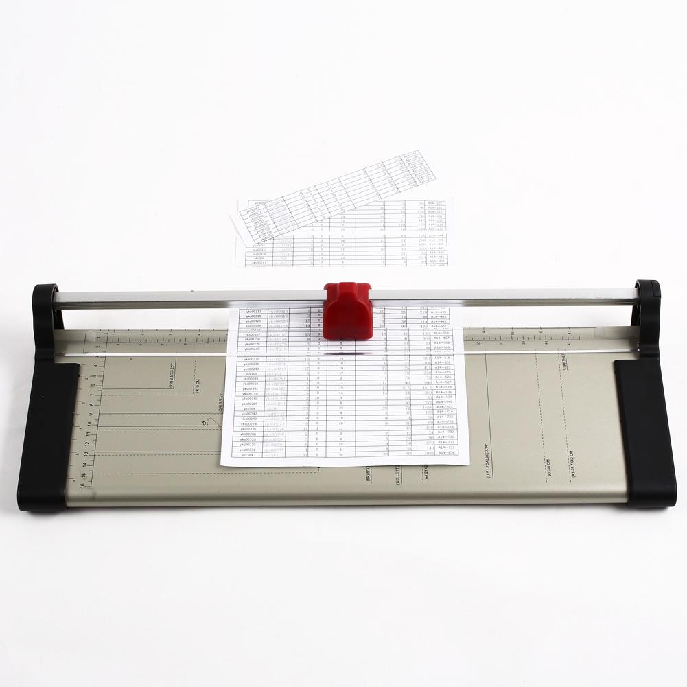 Foto-Papier-Schneidemaschine-Hebelschneider-Schneidegeraet-DIN-A3-Cutter