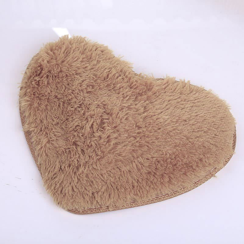 40x30cm Heart Shaped Carpet Shower Floor Bathroom Bath Rug