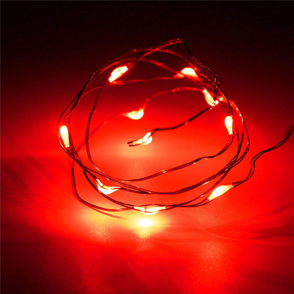 Perfect Holiday String Lights : Perfect Holiday 10 LED 1M Battery Operated String Lights Fairy Wedding Christmas eBay