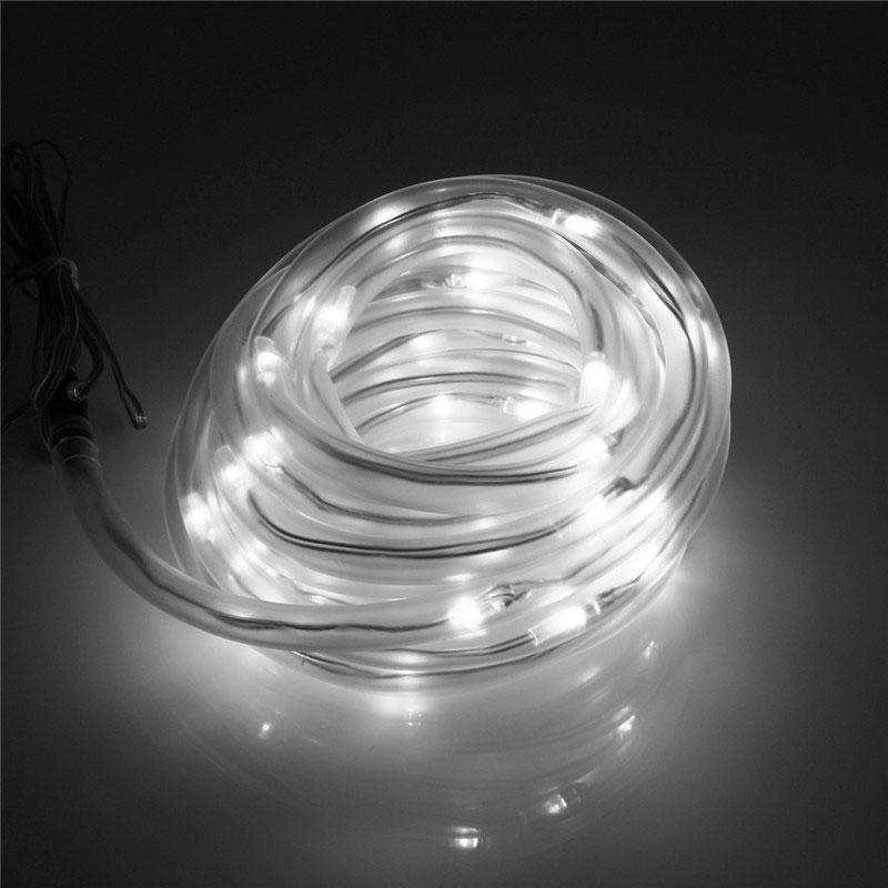 50-LED Solar Power Flexible Tube Strip Light Auto IP68