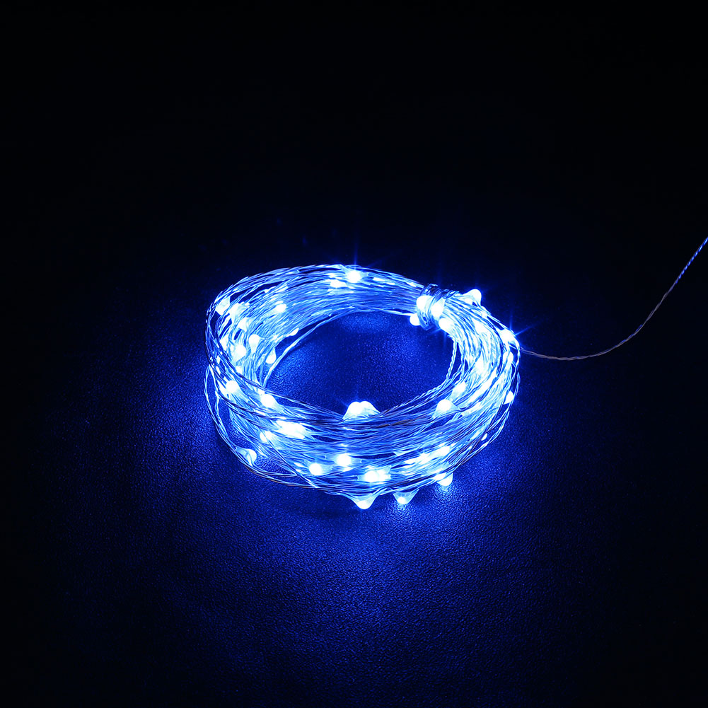 Outdoor 10M USB Christmas Copper Cord 100-LED String Light Waterproof Lamp eBay