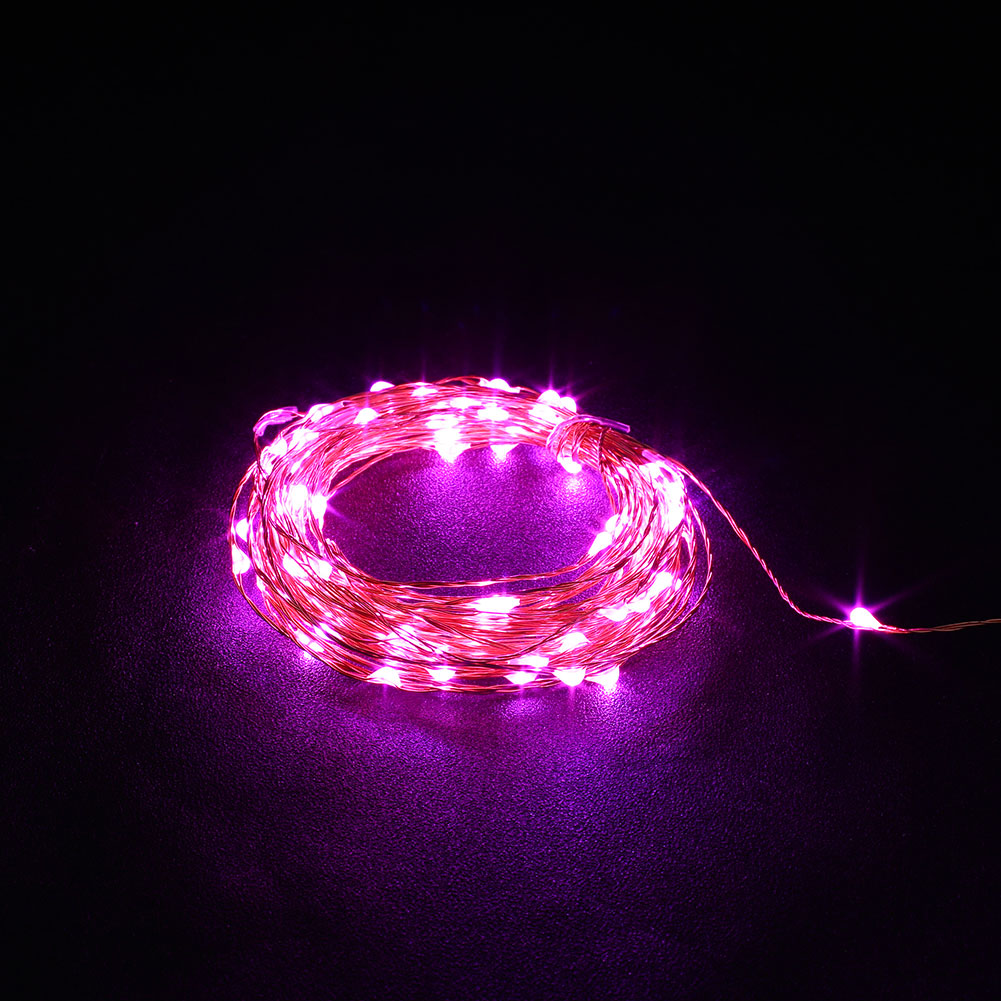 outdoor xmas 10m usb christmas copper cord 100 led strip. Black Bedroom Furniture Sets. Home Design Ideas