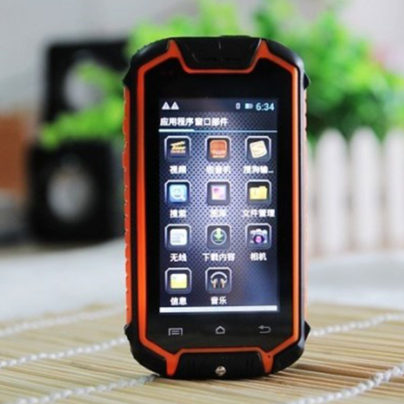Z18 waterproof rugged cell phone mtk6571 dual core android for Rugged cell phones
