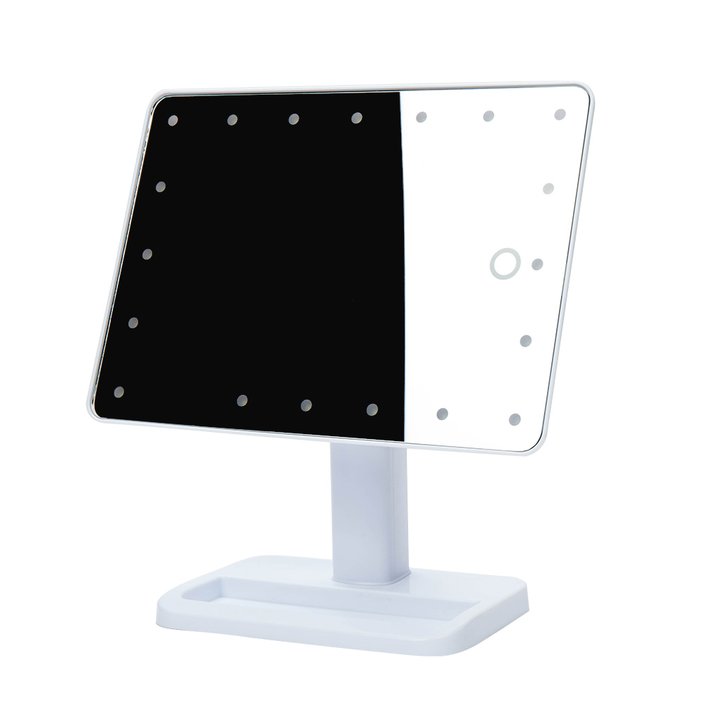Portable Led Screens : Portable led lighted touch screen makeup cosmetic