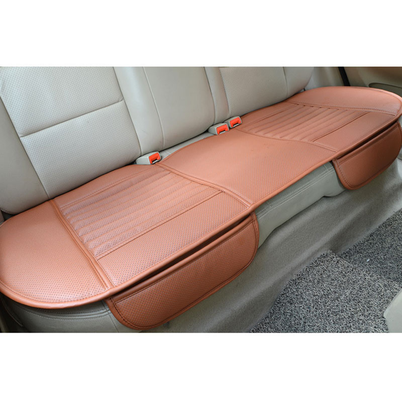 3pcs auto car vehicle interior pu leather seat cushion cover pad full set ebay. Black Bedroom Furniture Sets. Home Design Ideas