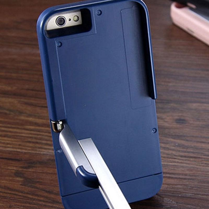 selfie stick case cover remote control strong kickstand stickbox for iphone 6. Black Bedroom Furniture Sets. Home Design Ideas