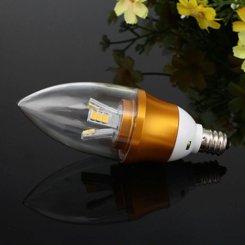 e12 led 6w candle light bulb dimmable lamp 220 240v home white warm color ebay. Black Bedroom Furniture Sets. Home Design Ideas