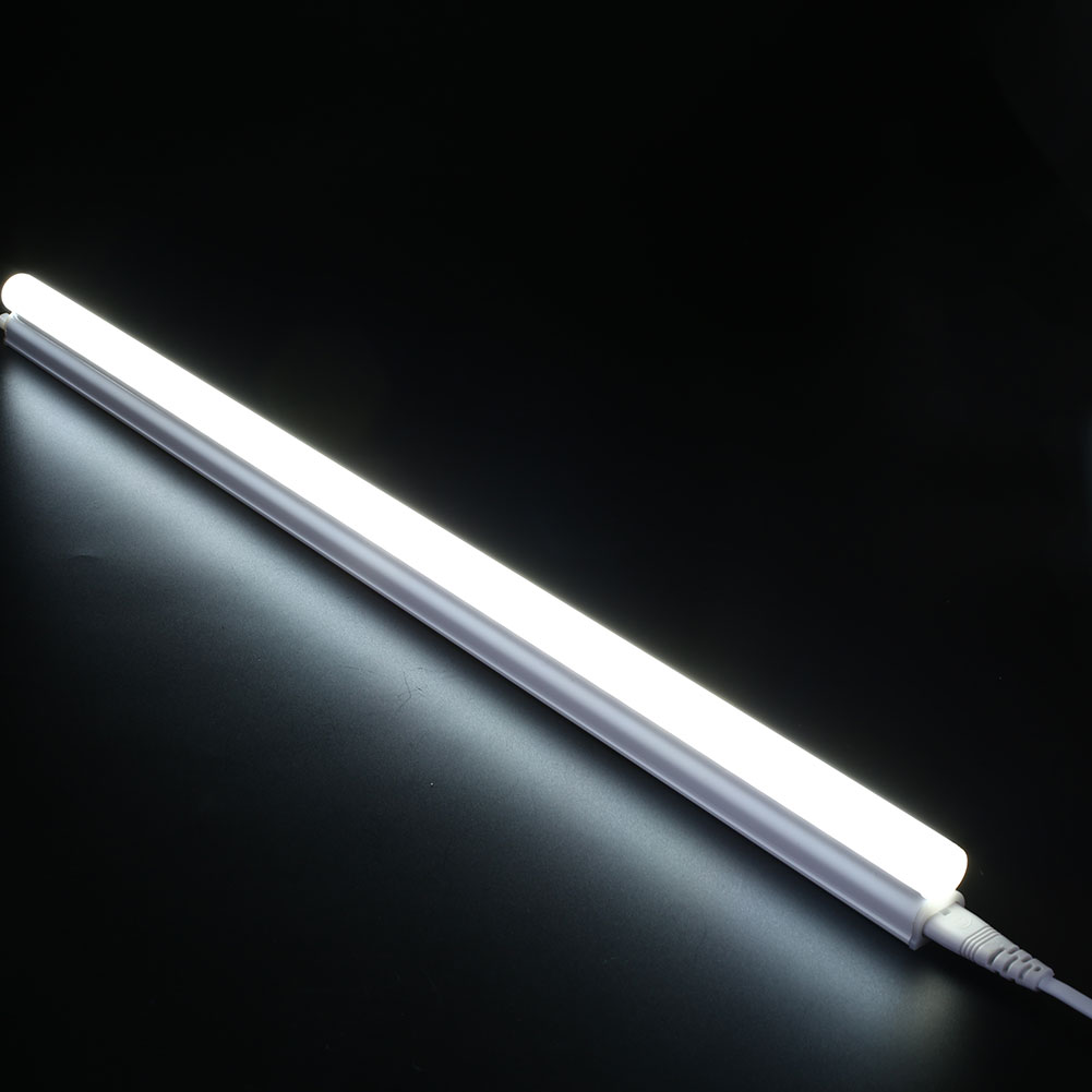 T5 Led Fluorescent Bulb 5w Ac 220v Pure Warm White Tube Light Strip 300mm Ebay