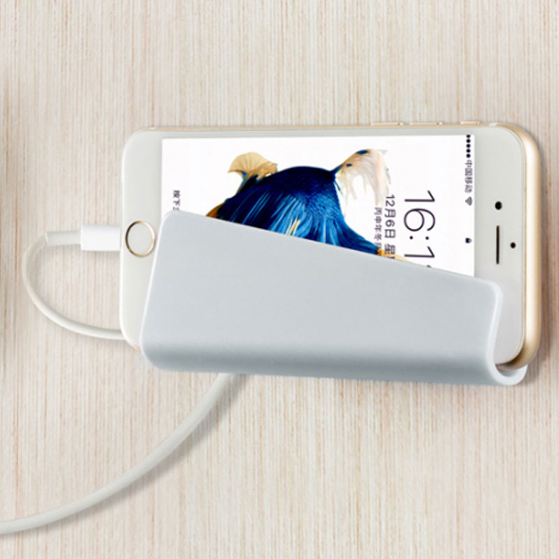 FBB7-Phone-Wall-Charger-Hanging-Holder-Stand-Bracket-Charge-Hanger-Rack-Shelf