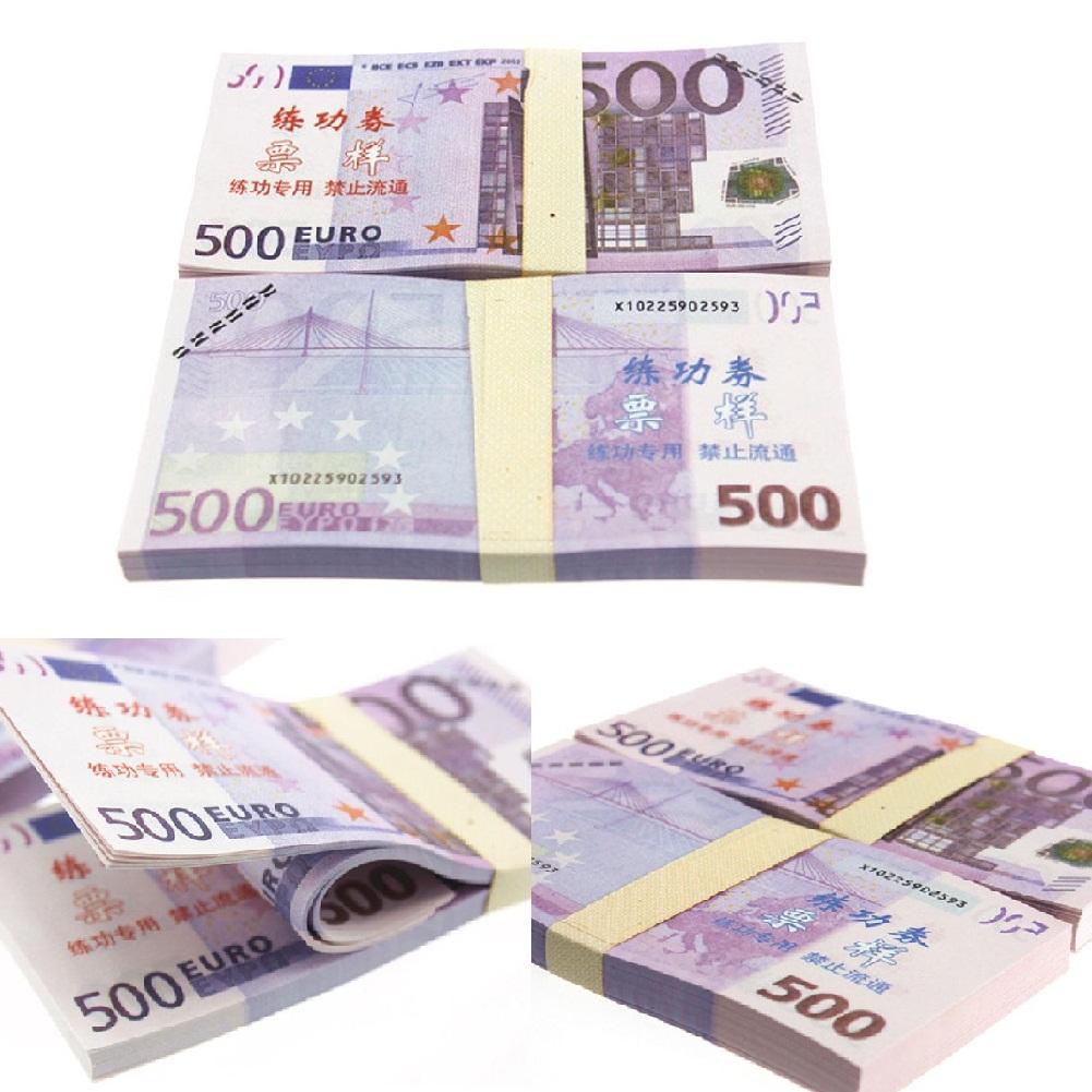 Fake Toy Money : Pcs lot euro play fake money practice banknotes